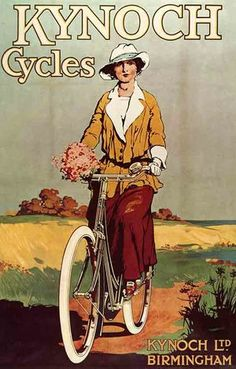 1923 Poster Ad for Kynoch Cycles