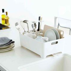 Egouttoir design blanc - Rangement vaisselle - Cuisine