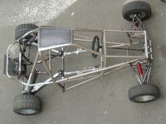Go Kart Frame Plans, Go Kart Plans, Build A Go Kart, Diy Go Kart, Go Kart Buggy, Off Road Buggy, Mini Jeep, Mini Bike, Karting