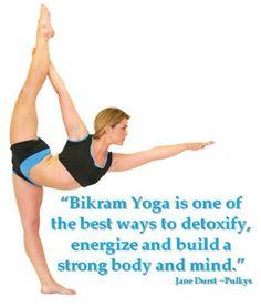 I'm taking my first Bikram Yoga class this Saturday!