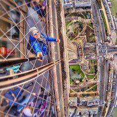 Okay, selfie sticks going to new limits ... he's a real bird's eye view of the Eiffel Tower. #SafeTravels #LuxuryLuggage #BeyondFirstClass These Instagrammers are taking social media to new heights: http://tandl.me/1vrmCwu  Photo courtesy of @yurymeneghel and @mister.traveler: Eiffel Tower https://www.facebook.com/travelandleisure