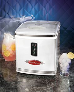 Ice maker. Would be great for parties instead of buying ice