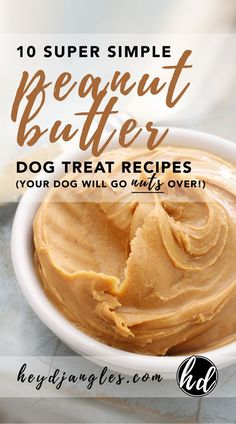 10 Super Simple Peanut Butter Dog Treat Recipes (Your dog will love!) – – healthy homemade DIY dog treat recipes that are simple and easy to make, frozen dog treats, simple dog treat recipes, peanut butter treats. Soft Dog Treats, Bacon Dog Treats, Frozen Dog Treats, Dog Treats Grain Free, Peanut Butter Dog Treats, Pumpkin Dog Treats, Homemade Peanut Butter, Doggie Treats, Sweet Potato Dog Treats