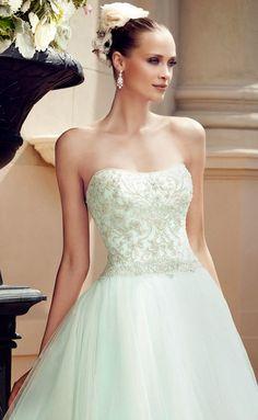 Lindos vestidos de novia señoritas 2015