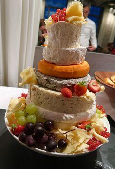 Käse-Hochzeitstorte - mal was anderes!