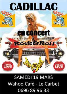 Concert CADILLAC Vous aussi intégrez vos événements dans l'Agenda des Sorties de www.bellemartinique.com C'est GRATUIT !  #martinique #Antilles #domtom #outremer #concert #agenda #sortie #soiree