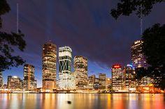 Brisbane at Night ~~ QLD, Australia