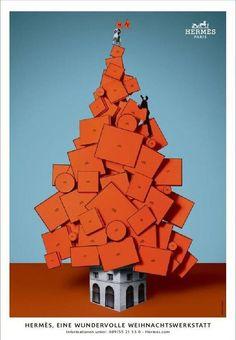 christmas campaign Hermes- home.