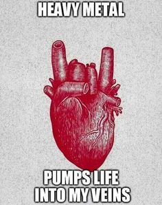 So true though! Metal for life.