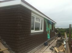 loft conversion flat roof dormer in build #9