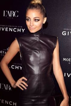 Today in Fashion News: Nicole Richie is designing a line for QVC. Meanwhile, Gucci has launch a line inspired by the Latin Grammy awards. Nicole Richie, Leather Dresses, Leather Pants, Black Leather, Party Fashion, Fall Fashion, Style Icons, Fashion News, Fashion Bloggers