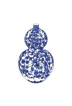 Blue and White Chinese Vase  5  13x19 Giclee by thepinkpagoda, $45.00