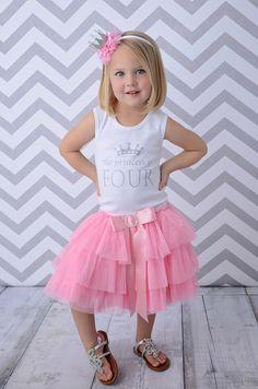 Birthday Number Princess Tutu Dress