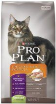 Purina Pro Plan Dry Adult Cat Food, Chicken and Rice Formula, 16-Pound Bag