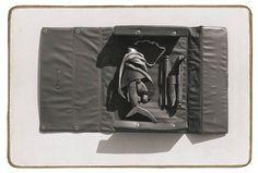 Šark v kufříku | Šark – cyklus 23 ks | fotografie na sololitu | 16 x 25 cm