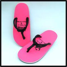 50d0a8cdc62c Tiddies Pink Flip Flop Sandals Pink Flip Flops