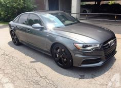 i'd like a daytona grey Audi A6 c7 w/ a black optics package.......#inlove