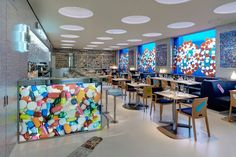 The Pharmay Damien Hirst, London restaurant interior
