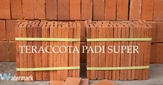 Terracota brick vintage natural