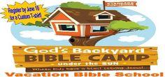 Gods Backyard Bible Camp Lodi, CA #Kids #Events