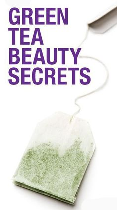 Green tea beauty DIYs