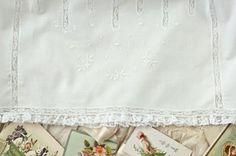 Scattered Floral Embroidery Design - Martha Pullen