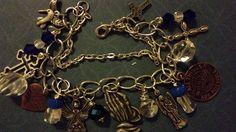 Josie's themed chunky charms bracelet