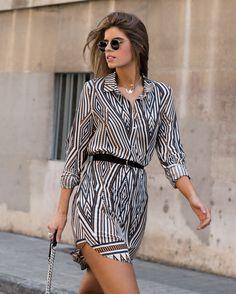Ms Treinta - Blog de moda y tendencias by Alba. - Fashion Blogger -: SHIRT DRESS