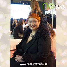 No Secret Mode Styling Expertin Christin Thomsen zusammen mit RTL auf der curvy is sexy Messe 2015 — mit Plus Size Model Christin und NoSecret Mode hier: Insel Eiswerder.