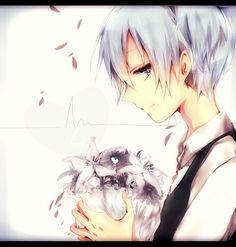 """A bouquet of flowers suits you better than blood."" - DA   Nagisa Shiota   Assassination Classroom"