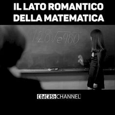 il lato romantico della matematica