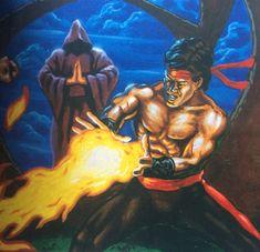 Mortal Kombat, Comic Book, Video Game, Cartoons, Batman, Superhero, Classic, Artwork, Fictional Characters
