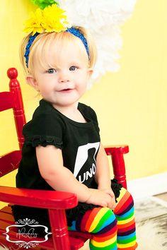 UNO First Birthday Girl Dress