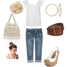 Romantic, created by christina-spencer on Polyvore