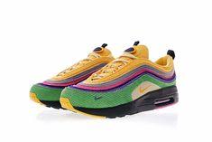 sneakers for cheap 541d0 1a0c3 NIKE AIR MAX 1 97 VF HYBRID SEAN WOTHER SPOON ID DESIGN SNEAKER AJ4219 407