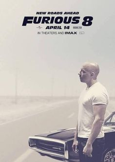 Vin Diesel - Fast and Furious 8 movie poster  #VinDiesel #FastandFurious8