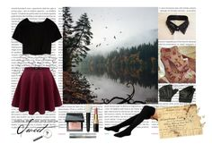 """Untitled #55"" by kajo999 ❤ liked on Polyvore featuring Max&Co., Bobbi Brown Cosmetics, Oris and Timorous Beasties"