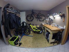 Schöne in der Wohnung Werkstatt.