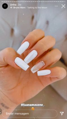 Minimalist Nails, Cute Nail Designs, Cute Nails, Manicure, Hair And Nails, Nail Polish, Make Up, Nail Art, Beauty