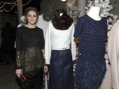 Olivia Palermo stands by her piperlime picks at our 2015 holiday party.