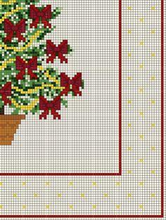 Buon Natale con alberello fiocchi rossi (4)