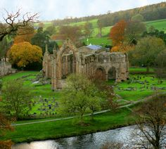 Bolton Abbey - be awesome to live near this kind of stuff!