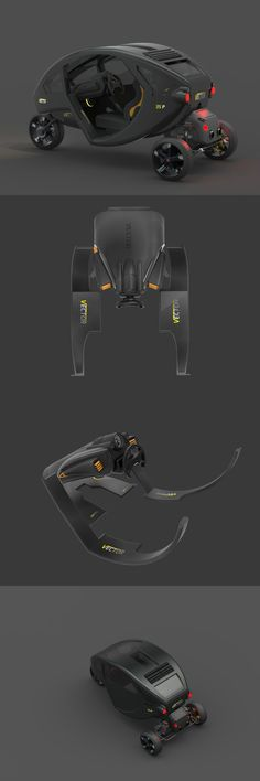 THE SINGLE-SEATER CAR.. Read more at Yanko Design