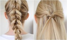 2x Zomerse Haarstijlen | Pull Through Braid | www.LiveLifeGorgeous.nl | www.2WMN.nl