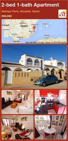2-bed 1-bath Apartment in Atalaya Park, Alicante, Spain ►€69,950 #PropertyForSaleInSpain