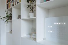 krumhuber.design › Konzept LH Bookcase, Shelves, Design, Home Decor, Concept, Shelving, Decoration Home, Room Decor