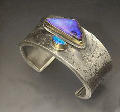 Patricia McCleery: Simple opal cuff