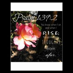 Get your hands on a customizable Bible postcard from Zazzle. Find a large selection of sizes and shapes for your postcard needs! Psalm 139, Psalms, Word Design, Words Of Encouragement, Bible Quotes, No Time For Me, Postcards, Prayers, Inspiration