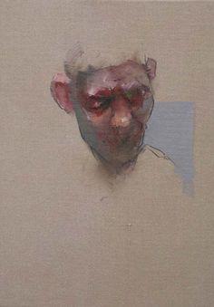 Nathan Ford - 'Fergus' Oil on Canvas 20 x 28 cm.