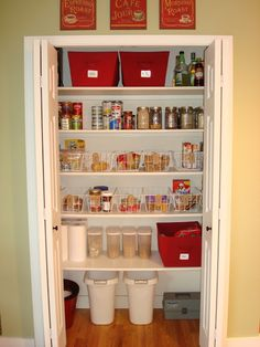 Tip for how to Organize the Pantry and Linen Closet - Ask Anna ...